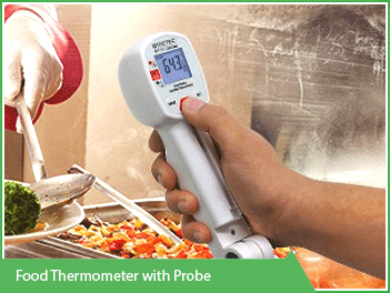 Food Thermometer with Probe Vacker Kuwait