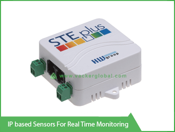 IP Based Sensors for real time monitoring - Vacker Kuwait