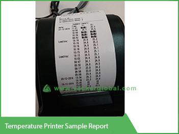 Temperature Printer Sample Report - Vacker Kuwait