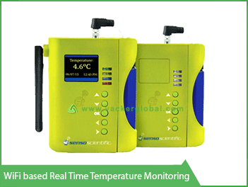 Wifi based real time temperature monitoring - Vacker Kuwait