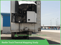 Reefer Truck Thermal Mapping Study - Vacker Kuwait
