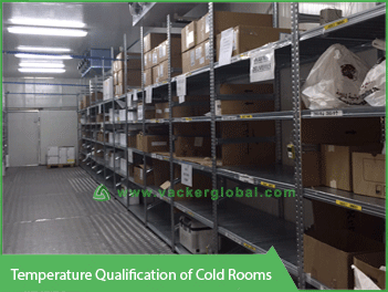 Temperature Qualification of Cold Rooms - Vacker Kuwait