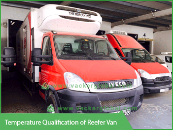 Temperature Qualification of Reefer Van - Vacker Kuwait