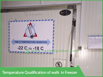 Temperature Qualification Walk-in Freezer - Vacker Kuwait