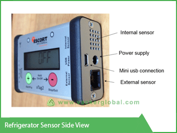 Refrigerator Sensor Side View VackerGlobal