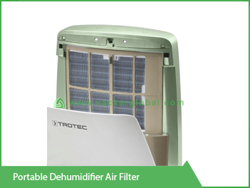 Portable Dehumidifier Air Filter Vacker Kuwait