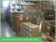 Cold Room Temperature mapping Study - Vacker Kuwait