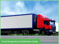 Truck temperature distribution - Vacker Kuwait