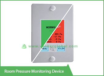 Room pressure monitoring model 6000